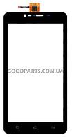 Сенсорный экран (тачскрин) для FLY IQ4601 Era Style 2 черный (Оригинал)