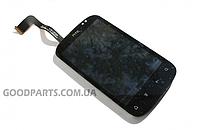 Дисплей с тачскрином и рамкой для HTC A310e Explorer (Оригинал)