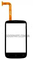 Сенсорный экран (тачскрин) для HTC A320 Desire C черный high copy