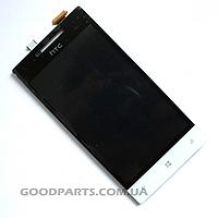 Дисплей с тачскрином для HTC A620e Windows Phone 8S белый (Оригинал)