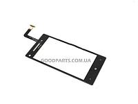 Сенсорный экран (тачскрин) для HTC C620e Windows Phone 8X черный (Оригинал)