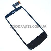 Сенсорный экран (тачскрин) для HTC Desire 500 черный (Оригинал)