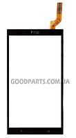 Сенсорный экран (тачскрин) для HTC Desire 700 черный (Оригинал)