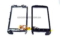 Сенсорный экран (тачскрин) с рамкой для HTC G5, Nexus One (Оригинал)