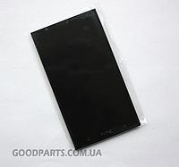 Дисплей с тачскрином для HTC ONE M7 801e черный (Оригинал)
