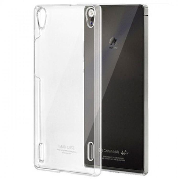 Чехол накладка силиконовый TPU Ultrathin Series 0,33mm для Huawei Ascend P7