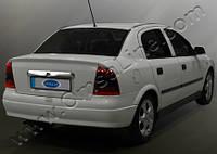 Хром планка над номером  Opel Astra G classic (1998-2012)