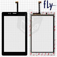 Touchscreen (сенсорный экран) для Fly Flylife Connect 7 3G 2, оригинал, черный