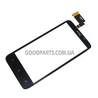 Сенсорный экран (тачскрин) для HTC T328d Desire VC черный (Оригинал)
