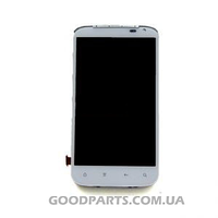 Дисплей с тачскрином для HTC X315 Sensation XL, G21 белый (Оригинал)