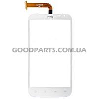 Сенсорный экран (тачскрин) для HTC X315 Sensation XL, G21 белый (Оригинал)