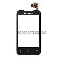 Сенсорный экран (тачскрин) для Lenovo A269 черный (Оригинал)