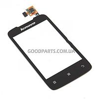 Сенсорный экран (тачскрин) для Lenovo A269i черный (Оригинал)