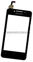 Сенсорный экран (тачскрин) для Lenovo A319 черный high copy