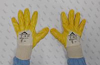 Перчатки трикотажные YELLOW STAR нитриловым покрытием