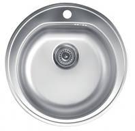 Кухонная мойка METALAC VENERA E (099517) полированная