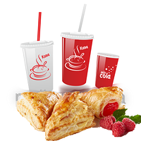 Бумажные стаканы с печатью логотипа