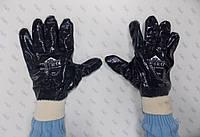 Перчатки трикотажные black star 0308 нитриловым покрытием
