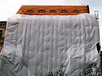 Плёнка защитная полупрозрачная для строительных лесов Eltcover 2000
