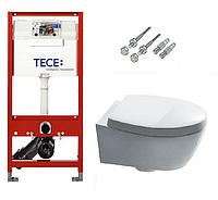 Инсталляция TECE с подвесным унитазом SIMAS LFT Spazio + крышка Softclose, фото 1