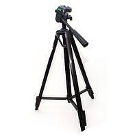 Штатив для фотоаппарата Zhuoyue ZY-3400 высота 135 см чёрный