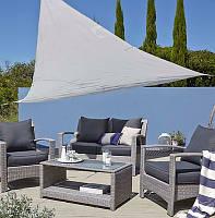 Набор плетенной мебели George Home Borneo 4 Piece Conversation Sofa Set - Grey and Charcoal
