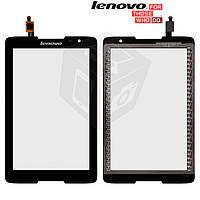 Сенсорный экран (touchscreen) для Lenovo IdeaTab A5500, черный, оригинал