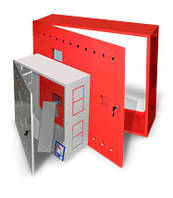 Шкаф пожарный навесной (600х600х230мм) с задней стенкой