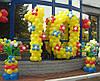 Оформление воздушными и гелиевыми шарами школьных праздников