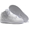 Кроссовки Женские Nike Air Force Mid 1 All White