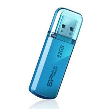 Флешка SiliconPower Helios 101 32Gb Blue