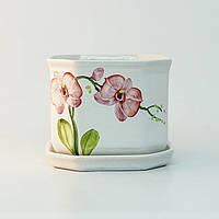 Горшок керамический для пересадки цветов P017, фото 1