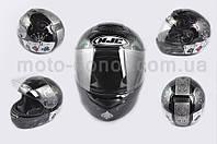"""Шлем-интеграл   """"HJC""""   (mod:R1) (size:L, черный, JOCKER)"""