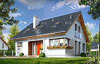 MS120. Классический дом с мансардным этажом, фото 1