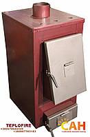 Твердотопливный котел с вентилятором и блоком управления САН Термо мощностью 27 кВт (SUN Termo)