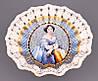 Фруктовница круглая Lefard Елизавета 25 см 85-1143