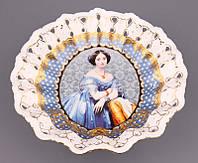 Фруктовница круглая Lefard Елизавета 25 см 85-1143, фото 1