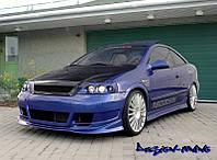 Бампер передний opel Astra G (02.1998-...)