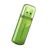 Флешка SiliconPower Helios 101 32Gb Green