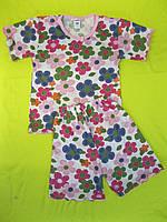 Пижама на девочку с цветочками