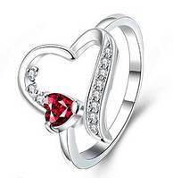 """Кольцо """"С любовью"""" покрытие 925 серебро"""