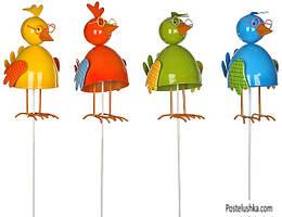 Садовая фигура Greenware декоративная Цыплята (177819)