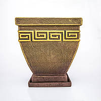 Горшок керамический для пересадки цветов P106, фото 1