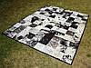 Купить кожаный ковер, ковры из кусочков телячьей шкуры