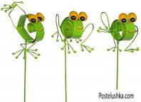 Садовая фигура Greenware декоративная Лягушка (172407)