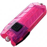 Фонарь Nitecore TUBE (Cree XP-G R5, 45 люмен, 2 режима, USB), розовый