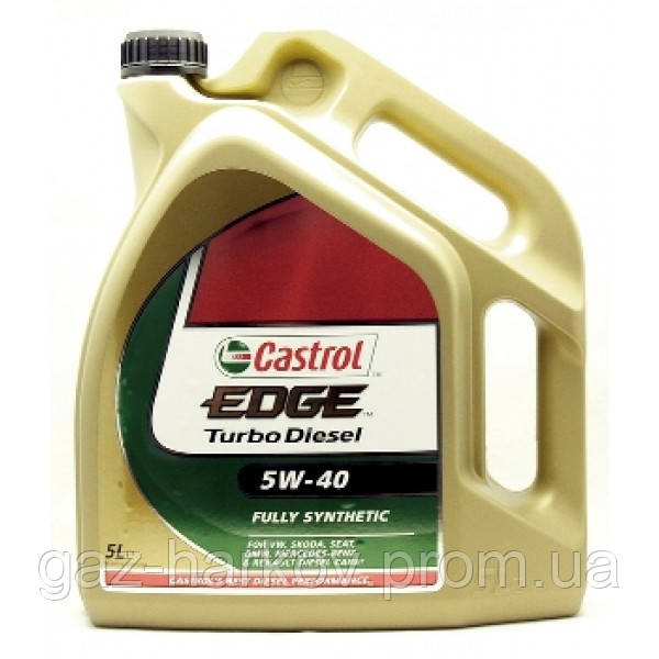 Cинтетическое моторное масло Castrol EDGE Turbo Diesel 5w40 (5)