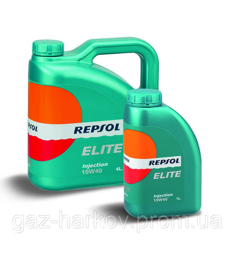 Полусинтетическое моторное масло Repsol Elite Injection 10W-40 (20)