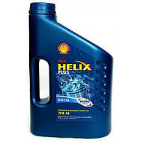 Полусинтетическое моторное масло Shell Helix DIESEL Plus 10W-40 (4)