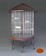 Золотая клетка В01 Вольер для птиц 88*88*186 см